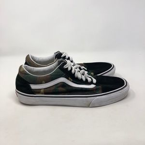 Vans Camo Old Skool. Men's 11